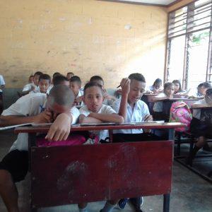 1. Sala de aula de Rumbia
